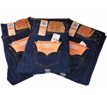 Джинсы Levis 501 Original Prewashed '005010115' (Страна США)
