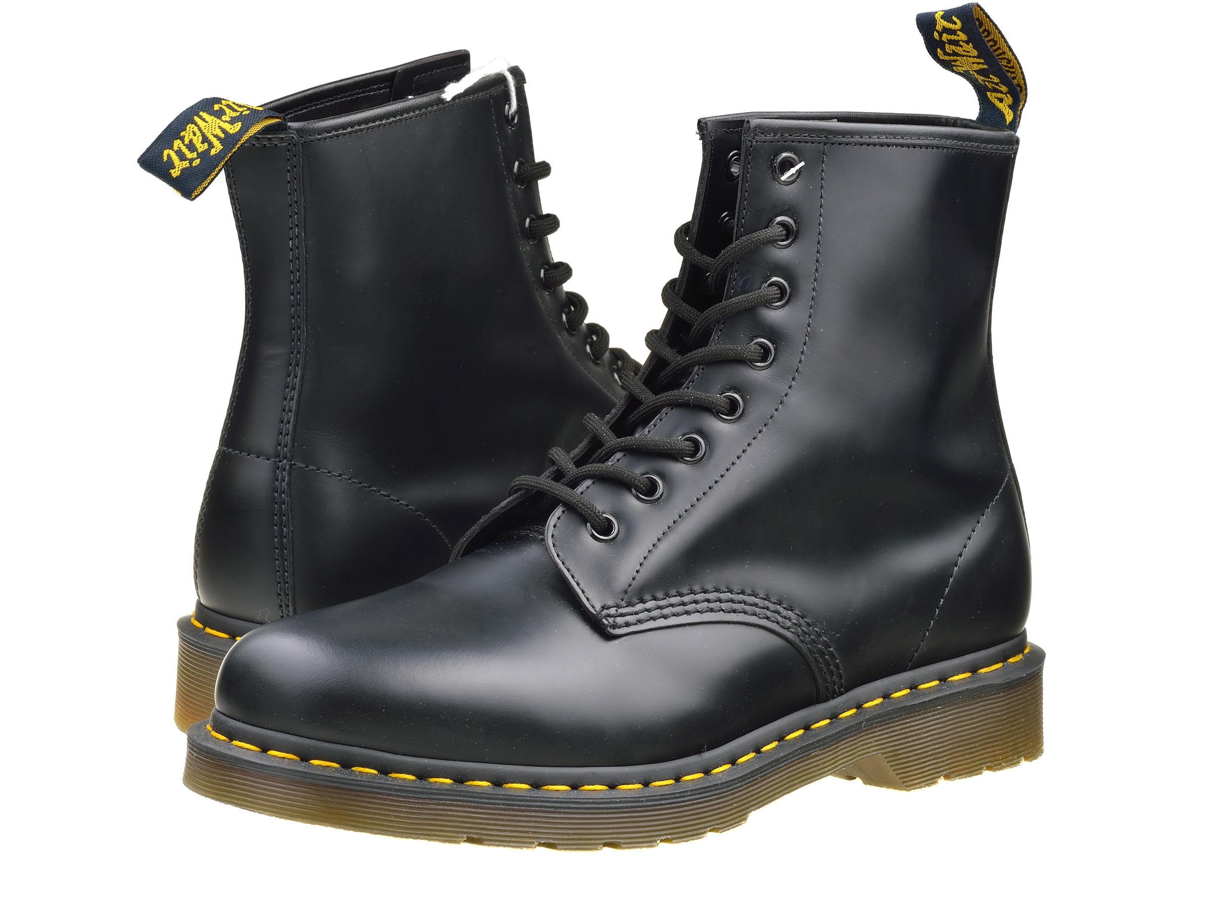 Кожаные ботинки Dr. Martens 1460 SMOOTH (Black) dfbd3b1399ec1